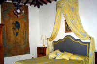 Luxurious double room at Hotel Villa Le Barone